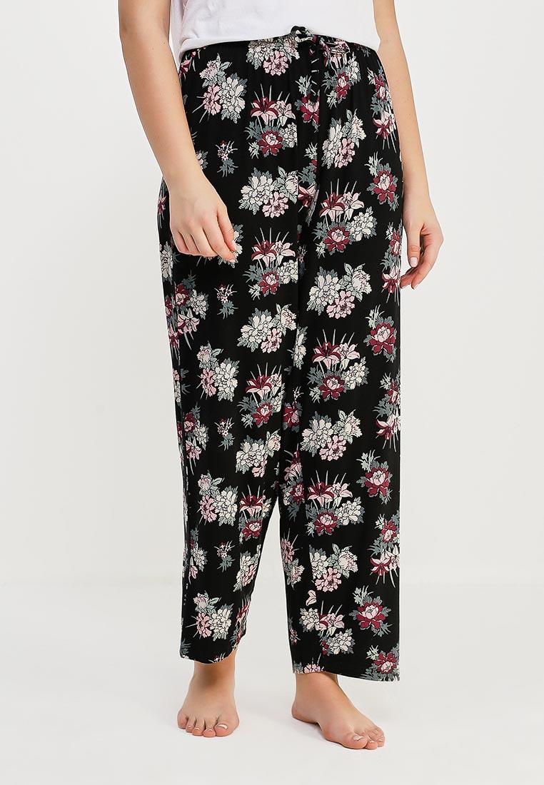 Женские домашние брюки Evans 10C27YBLK