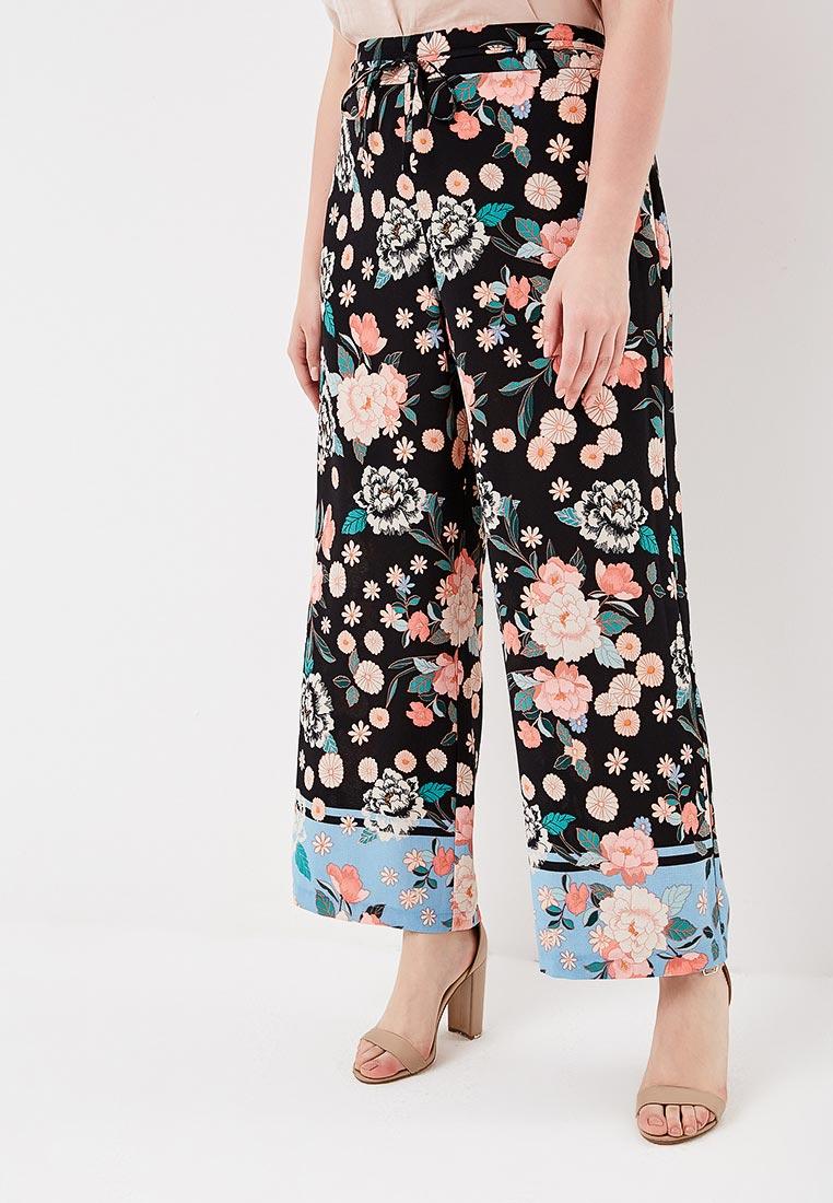 Женские широкие и расклешенные брюки Evans 03R27ABLK