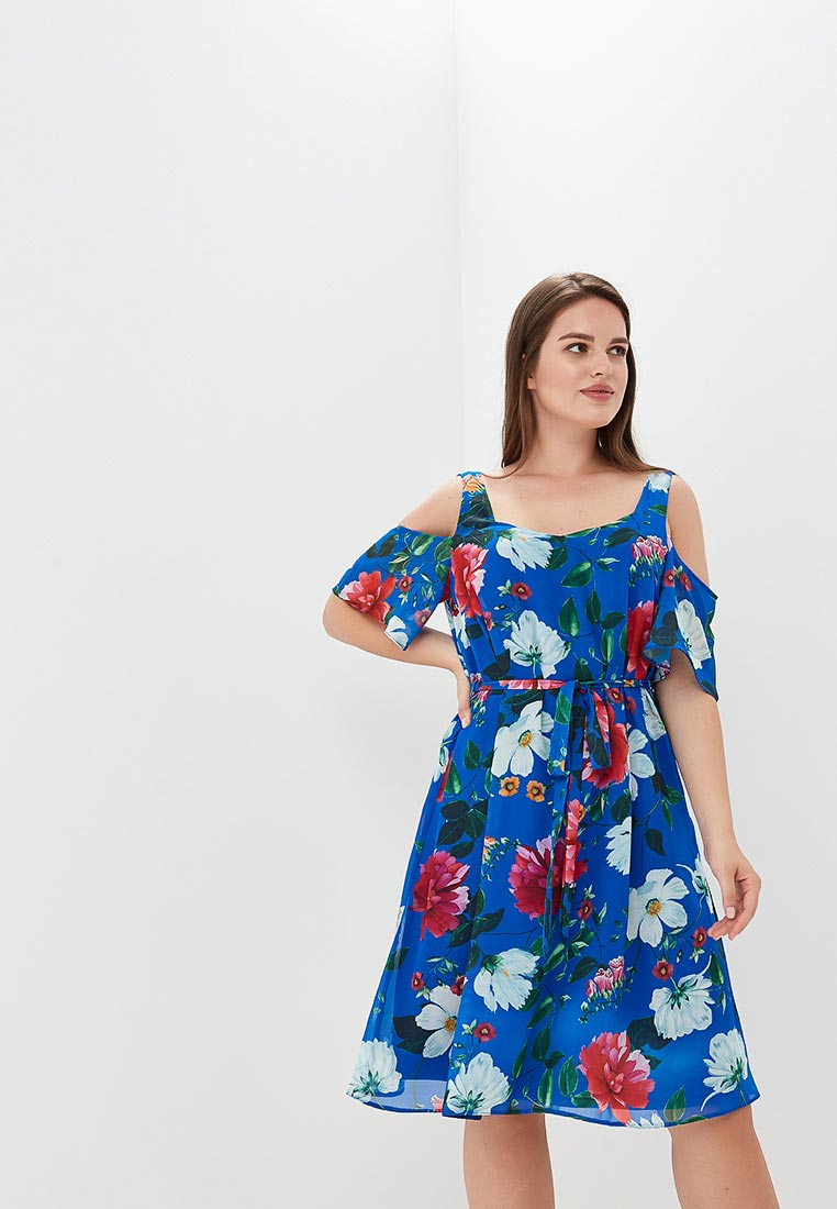 Платье-миди Evans 04S37AMUL
