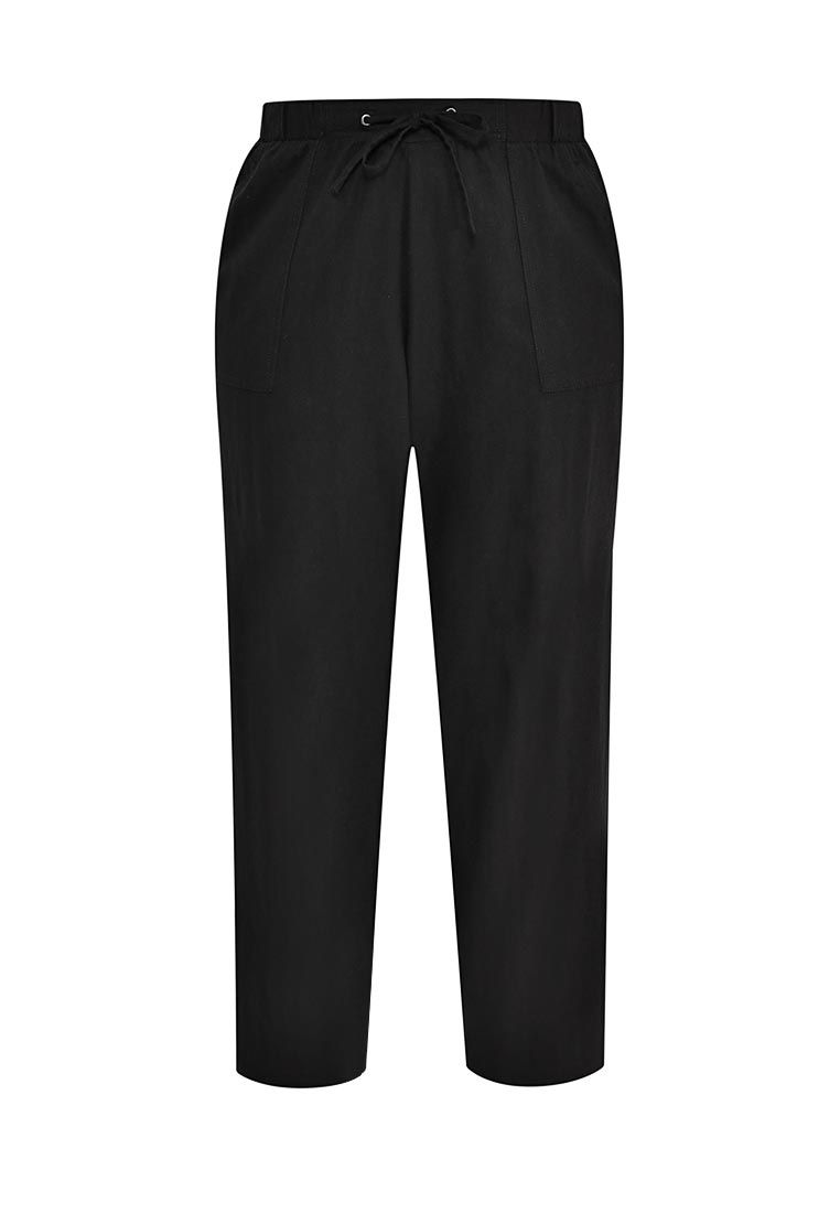 Женские прямые брюки Evans 34R14XBLK