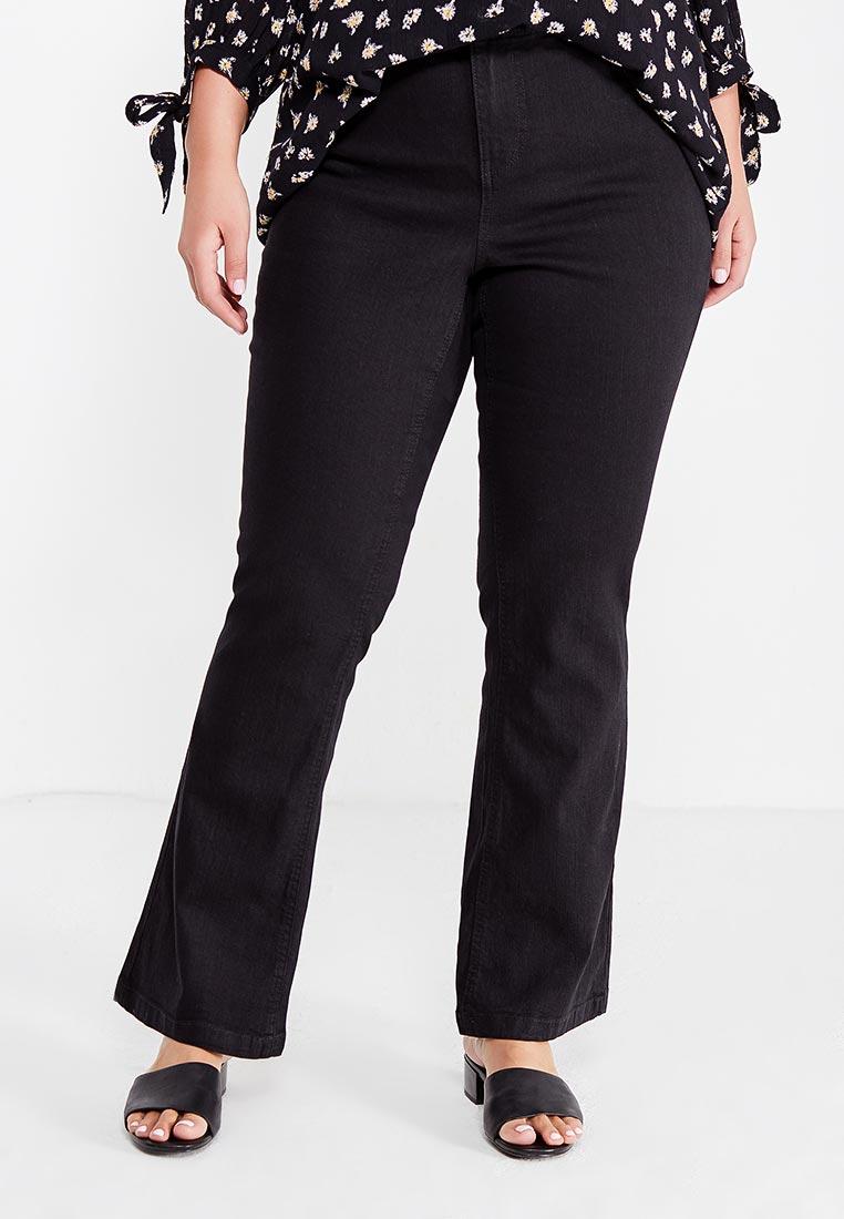 Широкие и расклешенные джинсы Evans 34R72ZBLK