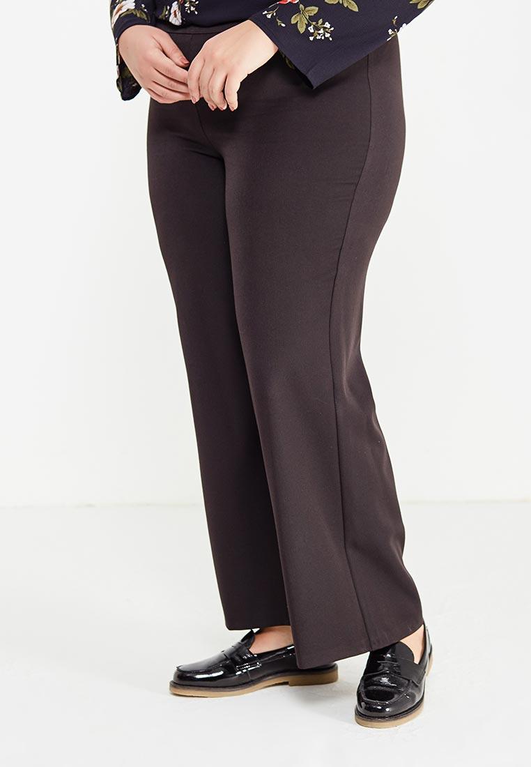 Женские широкие и расклешенные брюки Evans 03I02YBLK