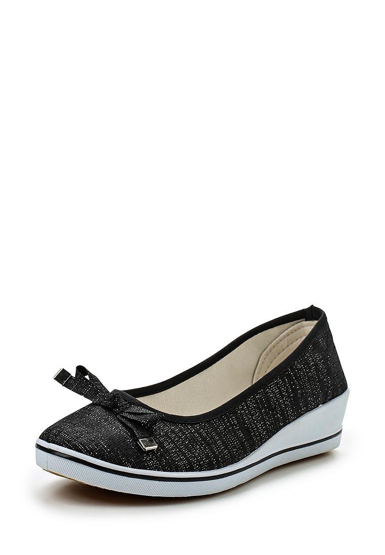 Туфли на плоской подошве Exquily Y6017