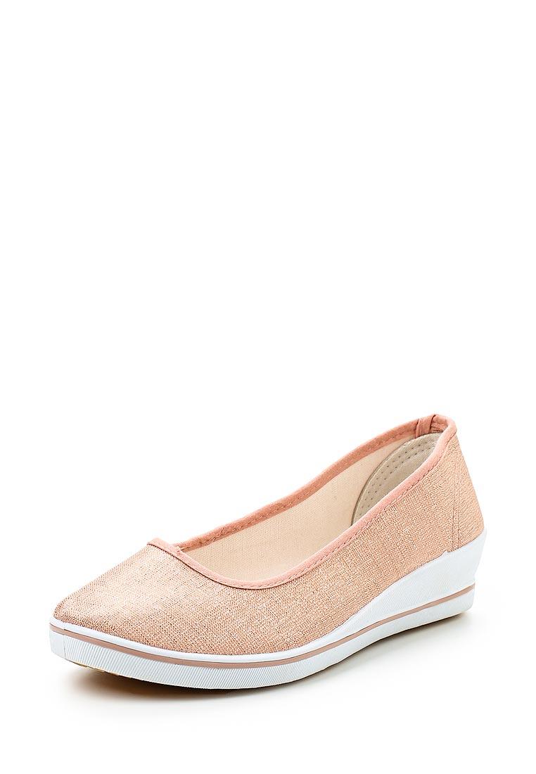 Туфли на плоской подошве Exquily Y6018