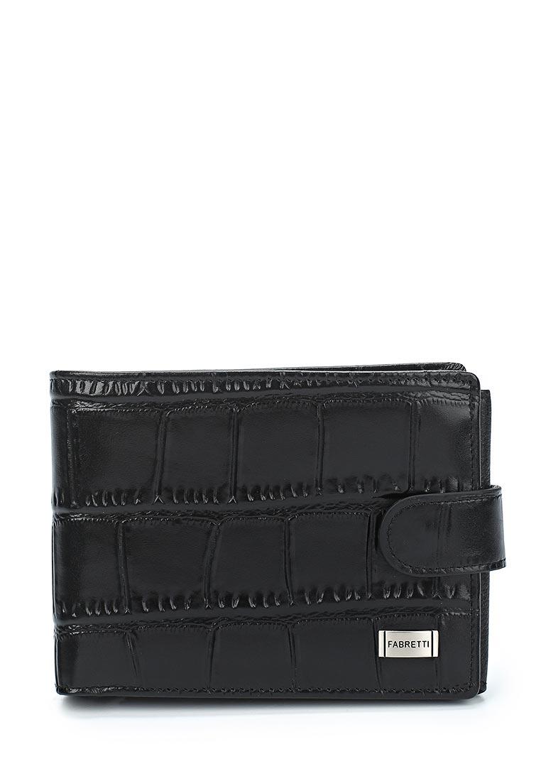 Кошелек Fabretti 37022-black cocco