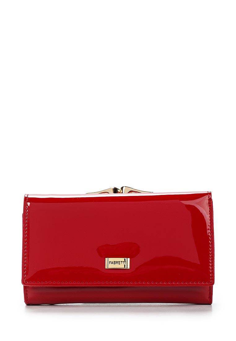 Кошелек Fabretti 55020-red L