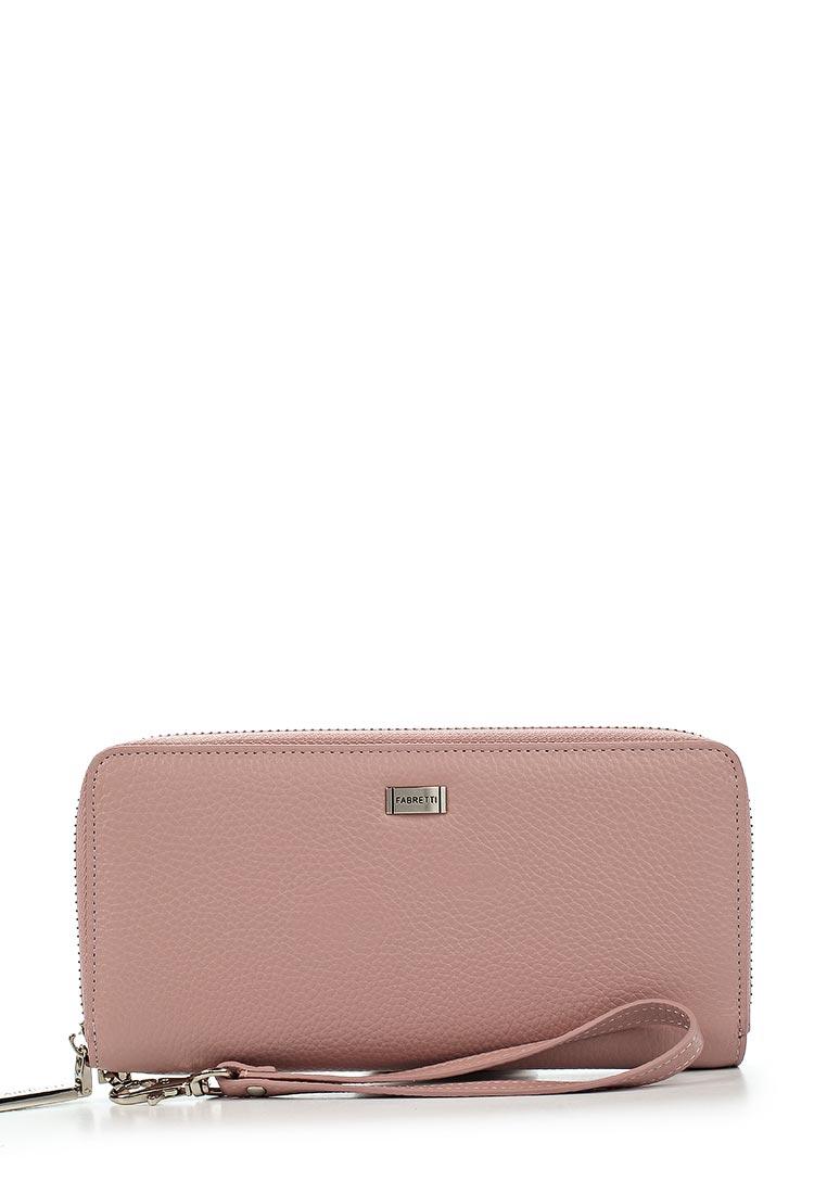 Кошелек Fabretti 77006-pink D