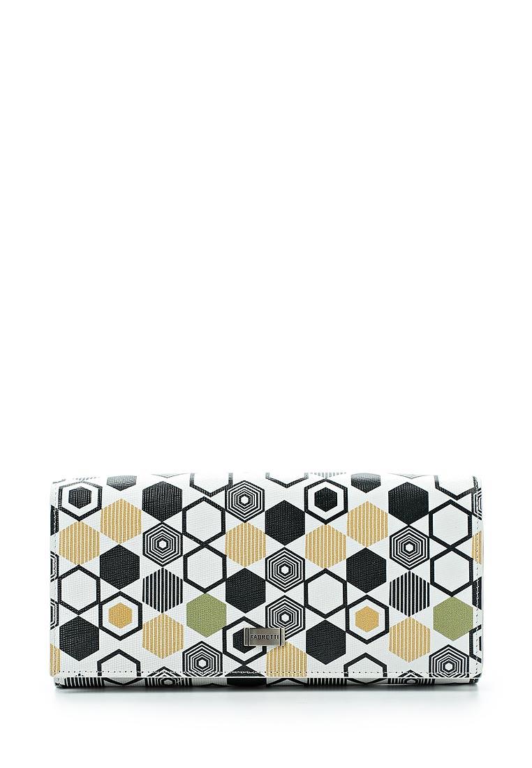 Кошелек Fabretti 47801-geometr beige