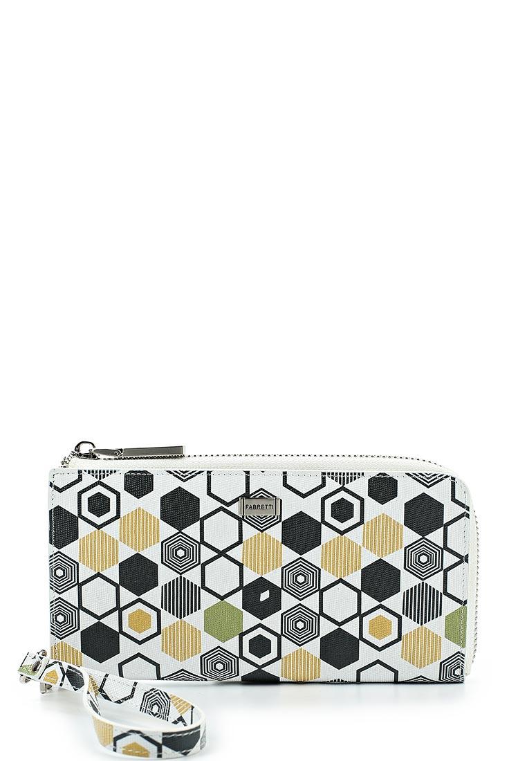 Кошелек Fabretti 73507-geometr beige