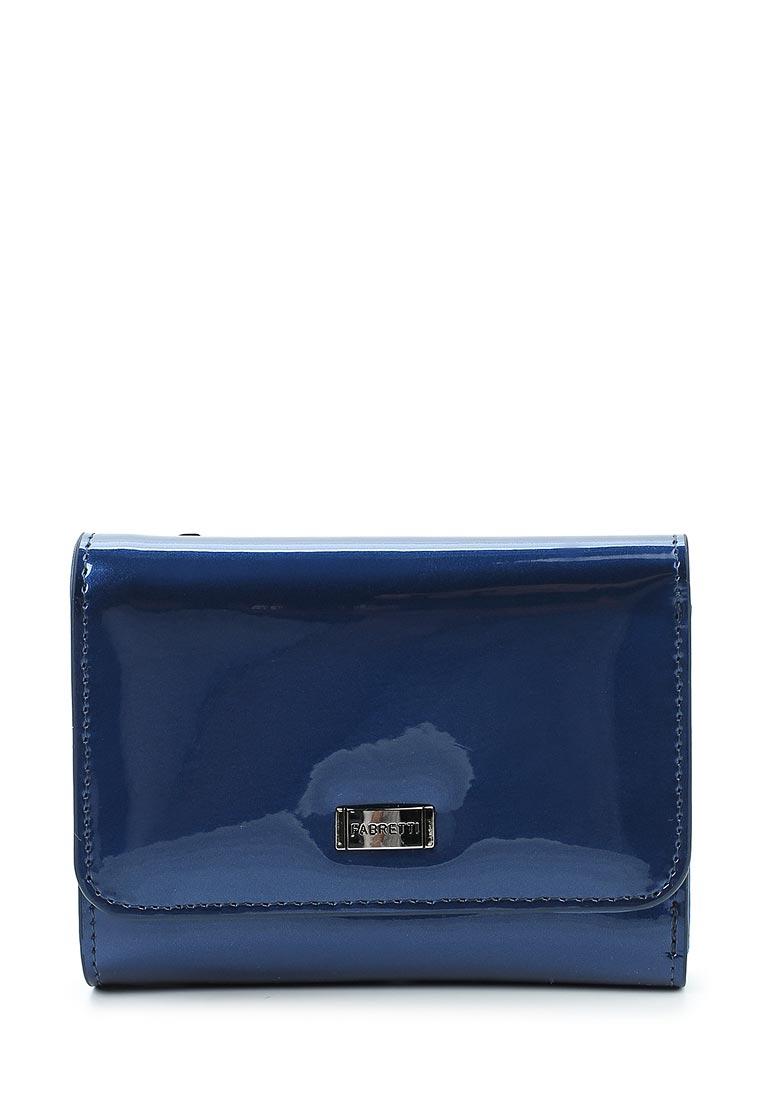 Кошелек Fabretti 44010-blue mirr L