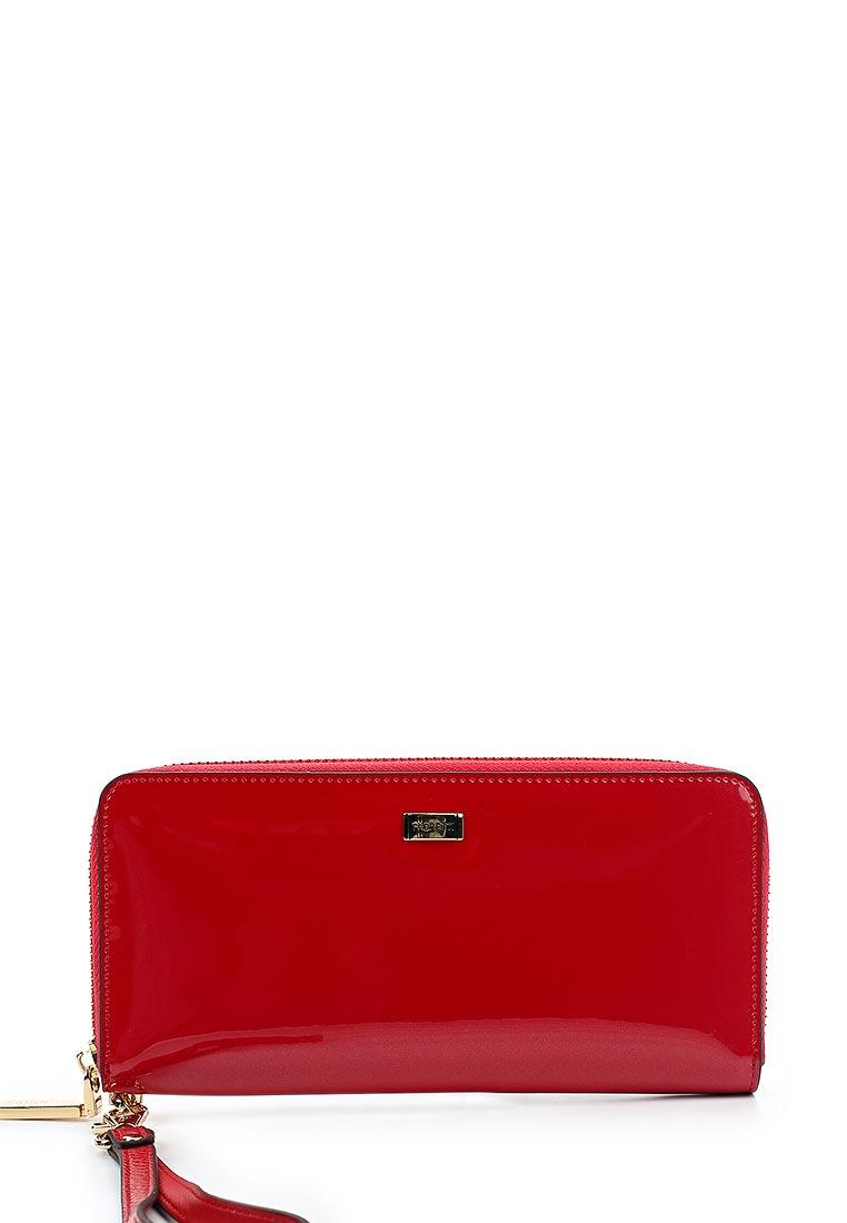 Кошелек Fabretti 77006-red mirr L
