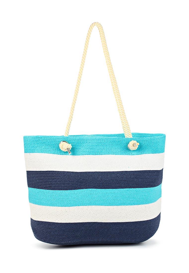 e923c3852c5c Пляжная сумка женская Fabretti GB12-5/4 BLUE/WHITE купить за 2699 руб.