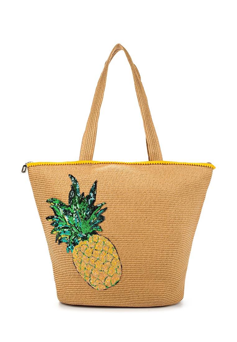 Пляжная сумка Fabretti GLB23-1 beige