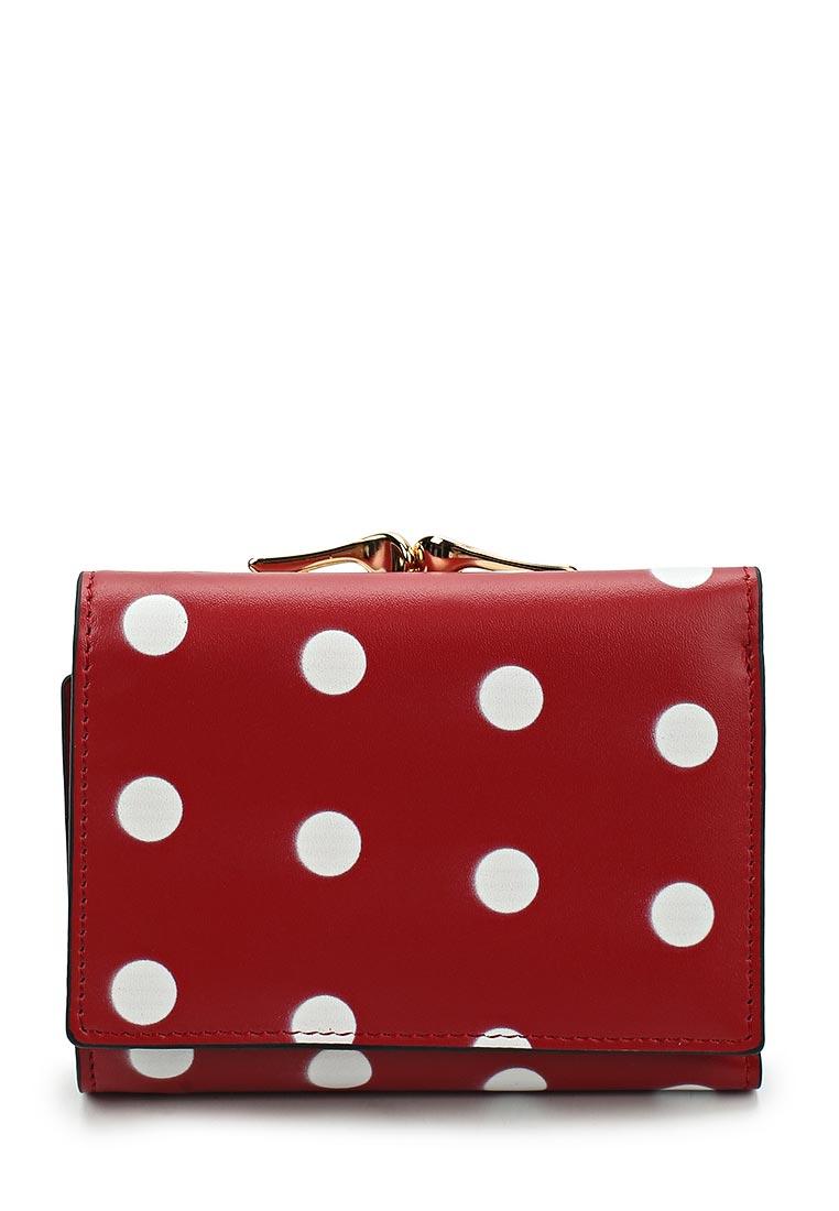 Кошелек Fabretti 42022-red dot