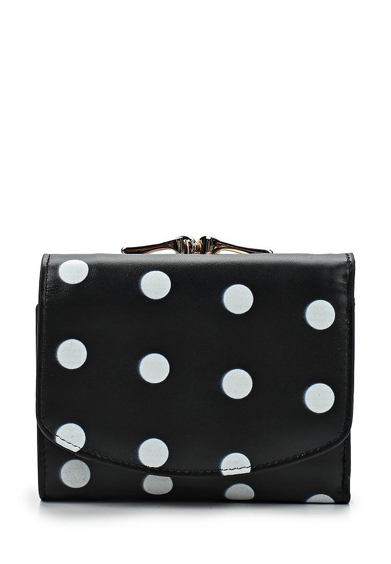 Кошелек Fabretti 43022-black dot