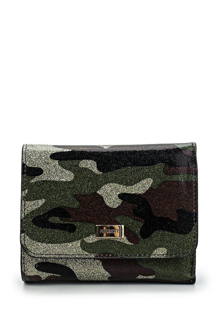 Кошелек Fabretti 44010-green military