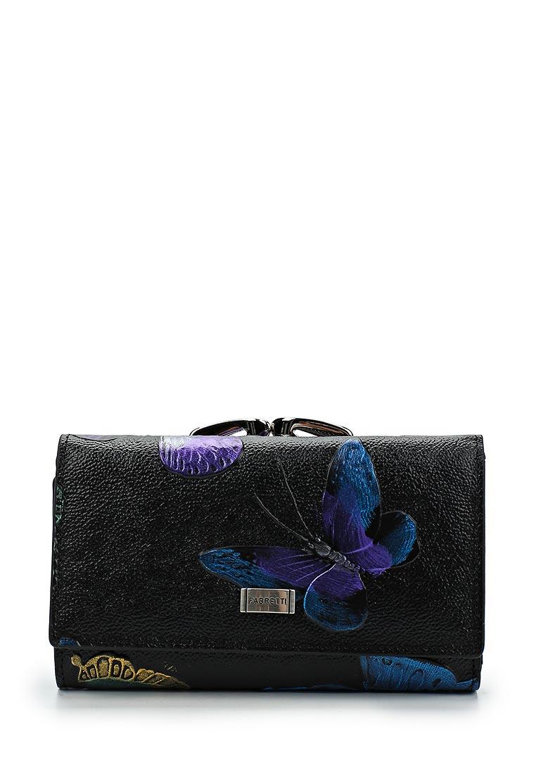 Кошелек Fabretti 55020-black batt
