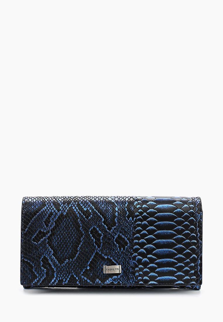 Кошелек Fabretti 72037-blue piton