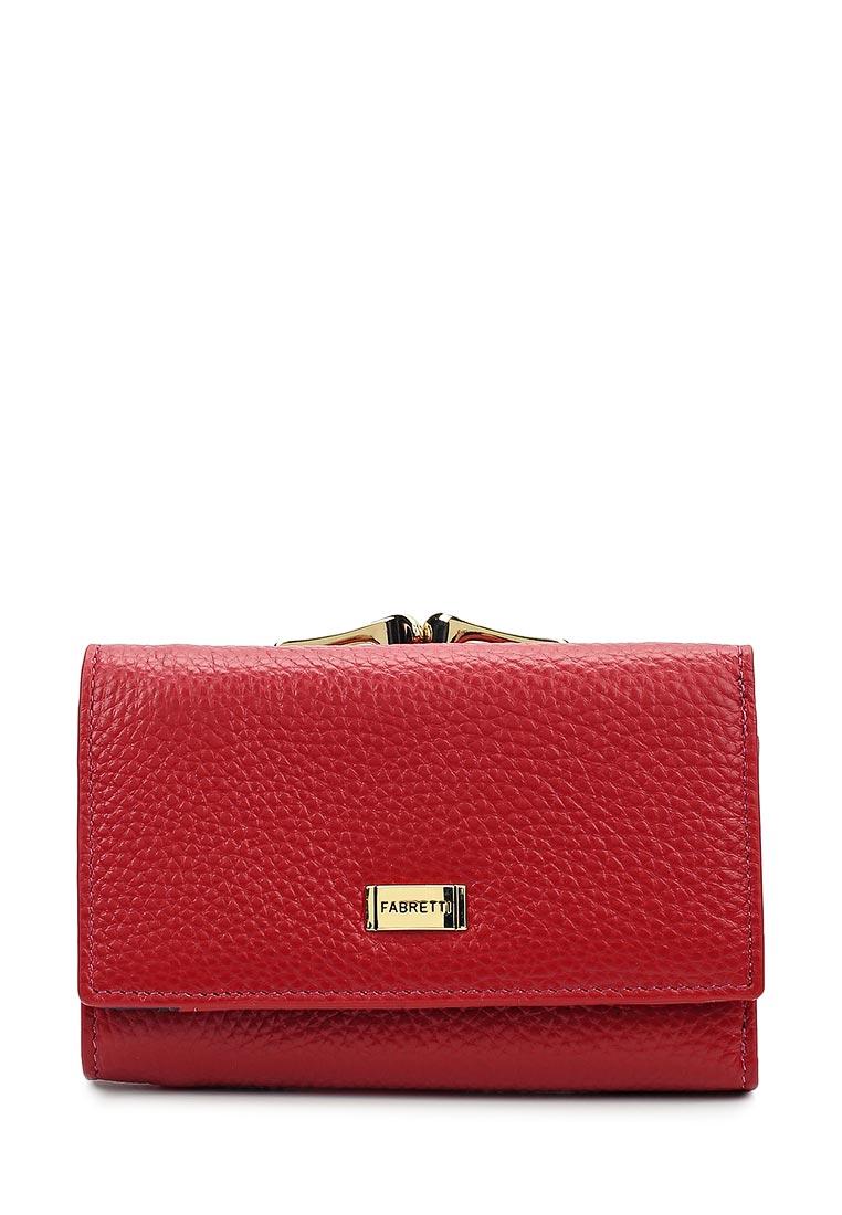 Кошелек Fabretti 46001-red D