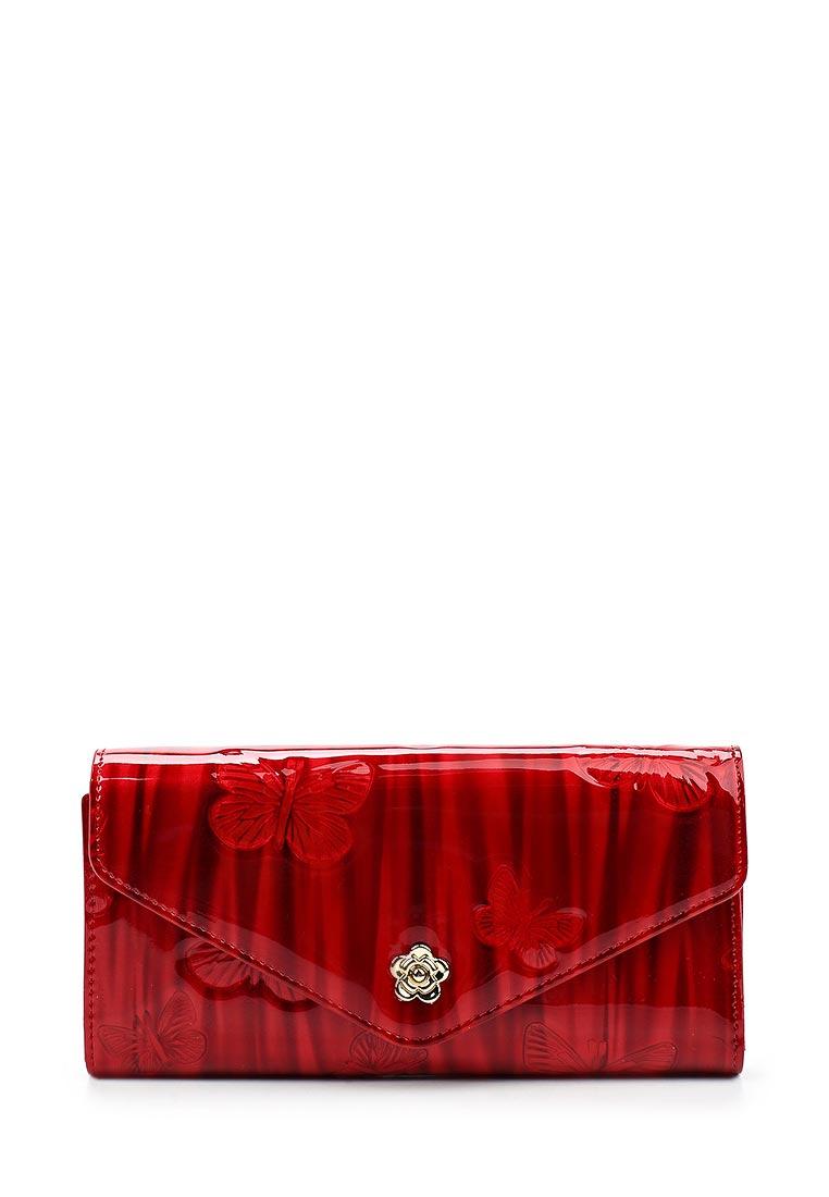 Кошелек Fabretti 74372-red batt L