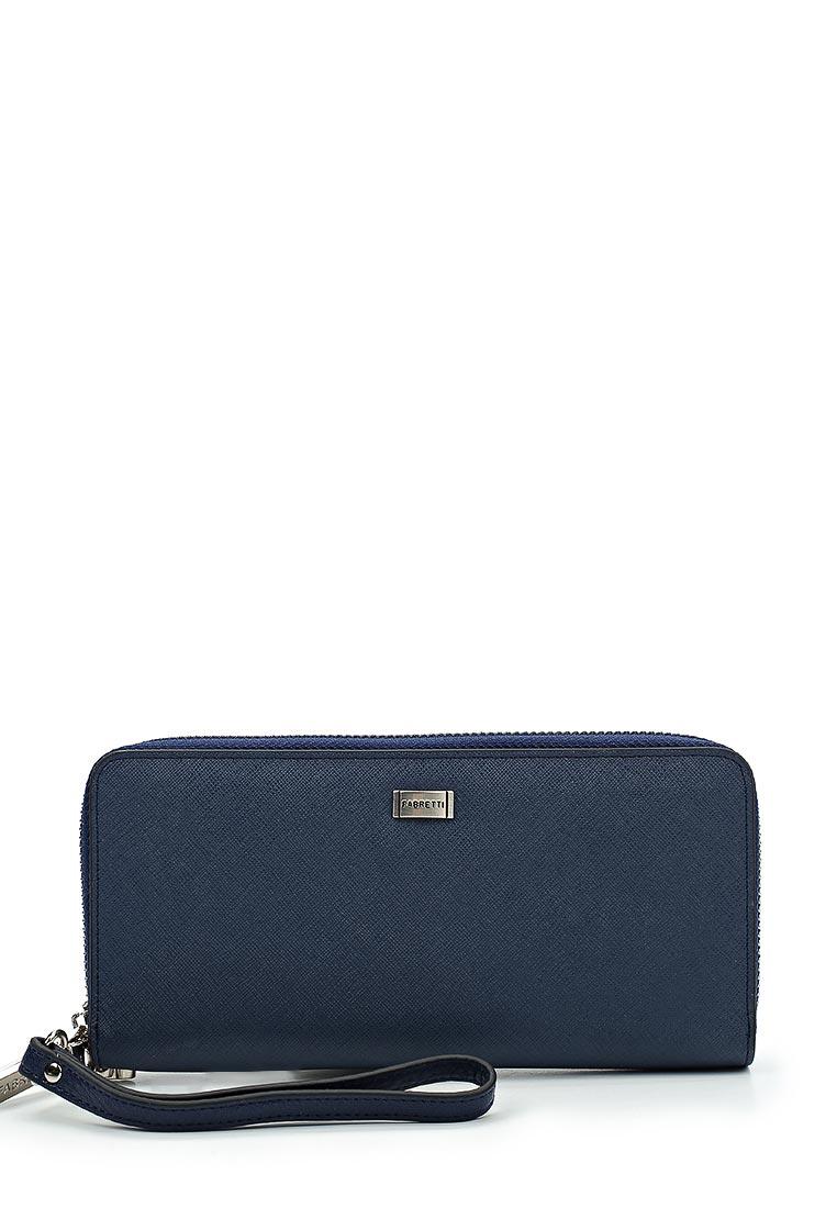 Кошелек Fabretti 77006-blue Saf