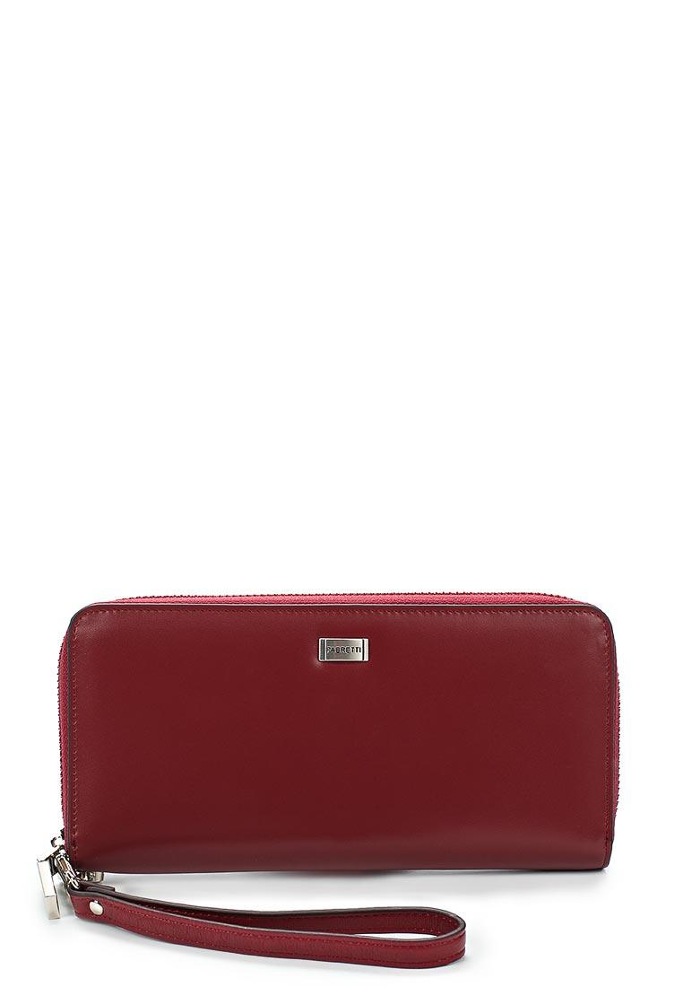 Кошелек Fabretti 77006-burgundy gel
