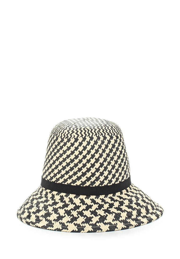 Шляпа Fabretti V25-3/2 beige/black