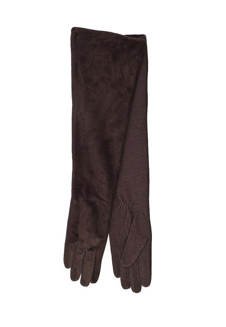 Женские перчатки Fabretti (Фабретти) 23.1-2 brown