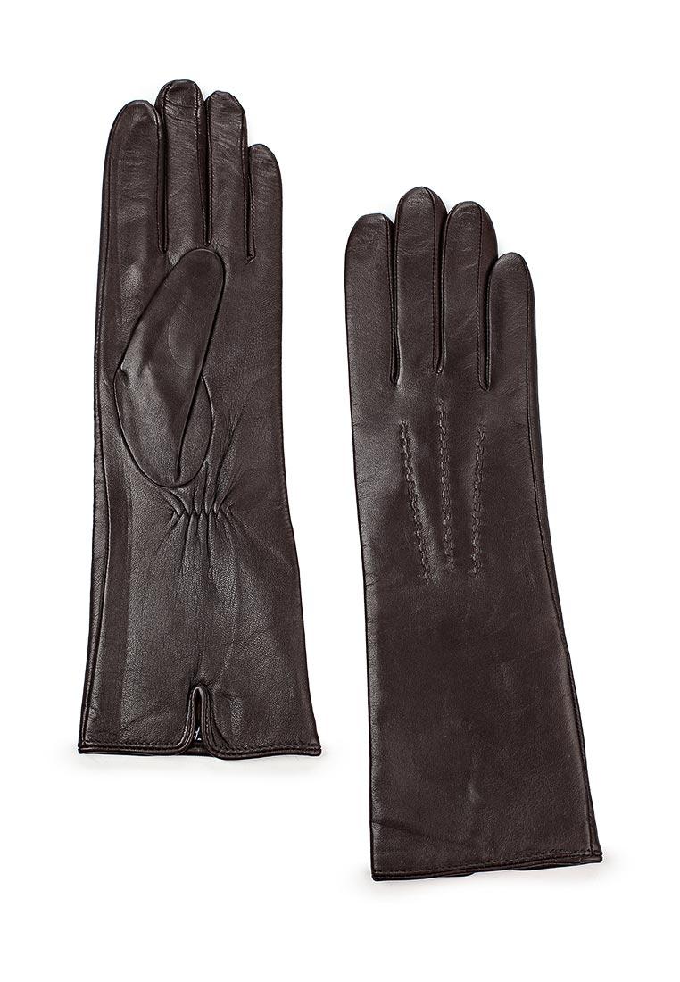 Женские перчатки Fabretti (Фабретти) 12.6-2 chocolat