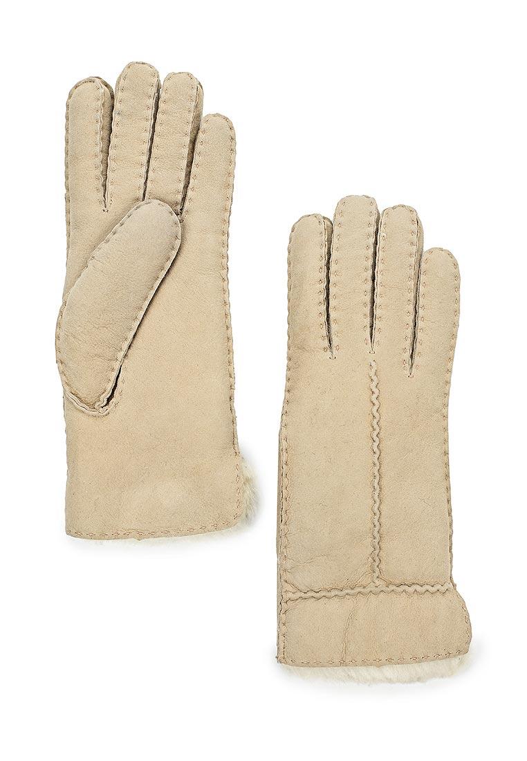 Женские перчатки Fabretti (Фабретти) 25.11-5 beige