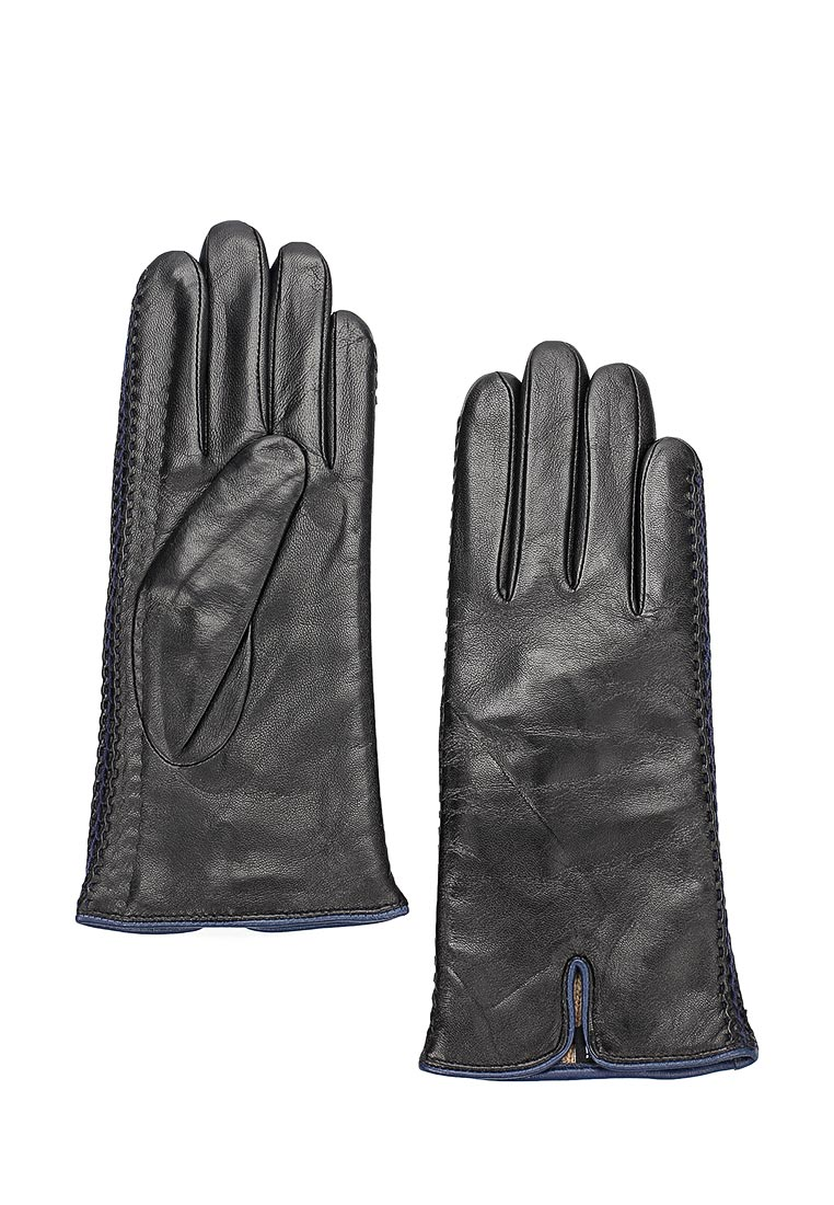 Женские перчатки Fabretti 12.66-1/12 black/blue