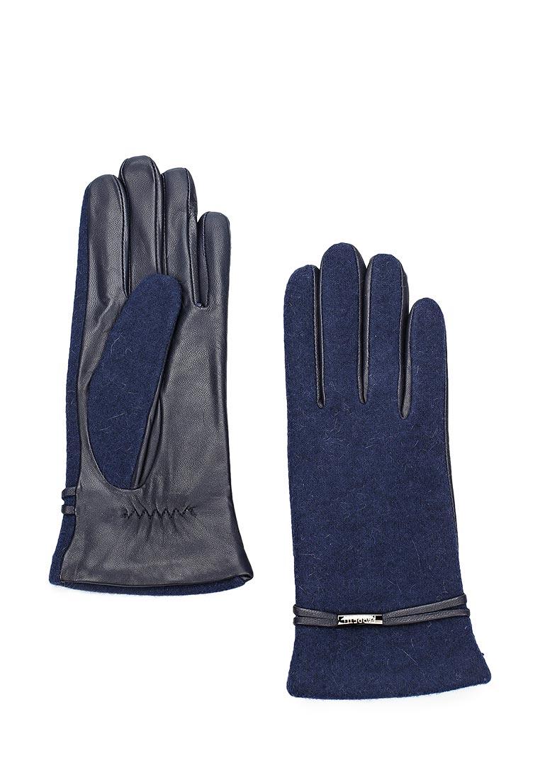 Женские перчатки Fabretti (Фабретти) 33.2-12 blue