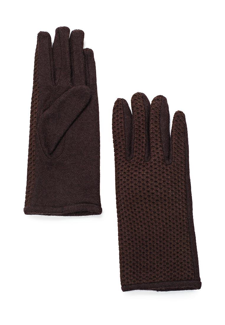 Женские перчатки Fabretti D2017-1-coffe