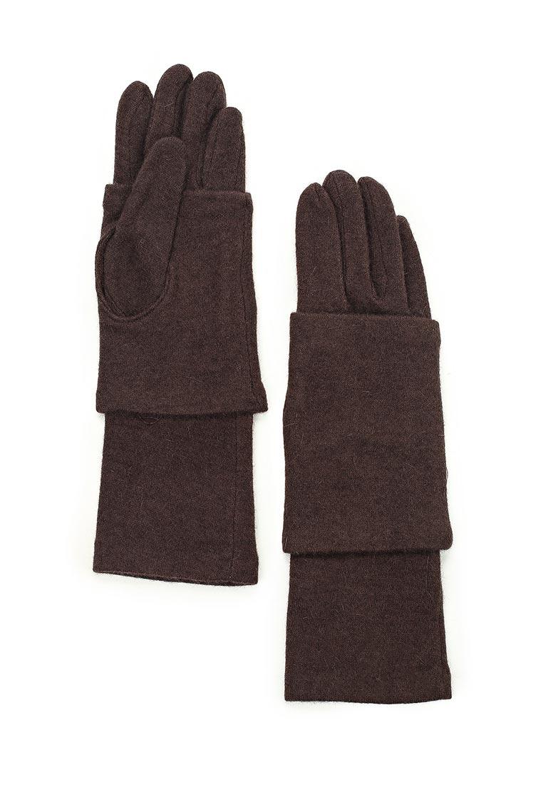 Женские перчатки Fabretti D2017-2#-coffe