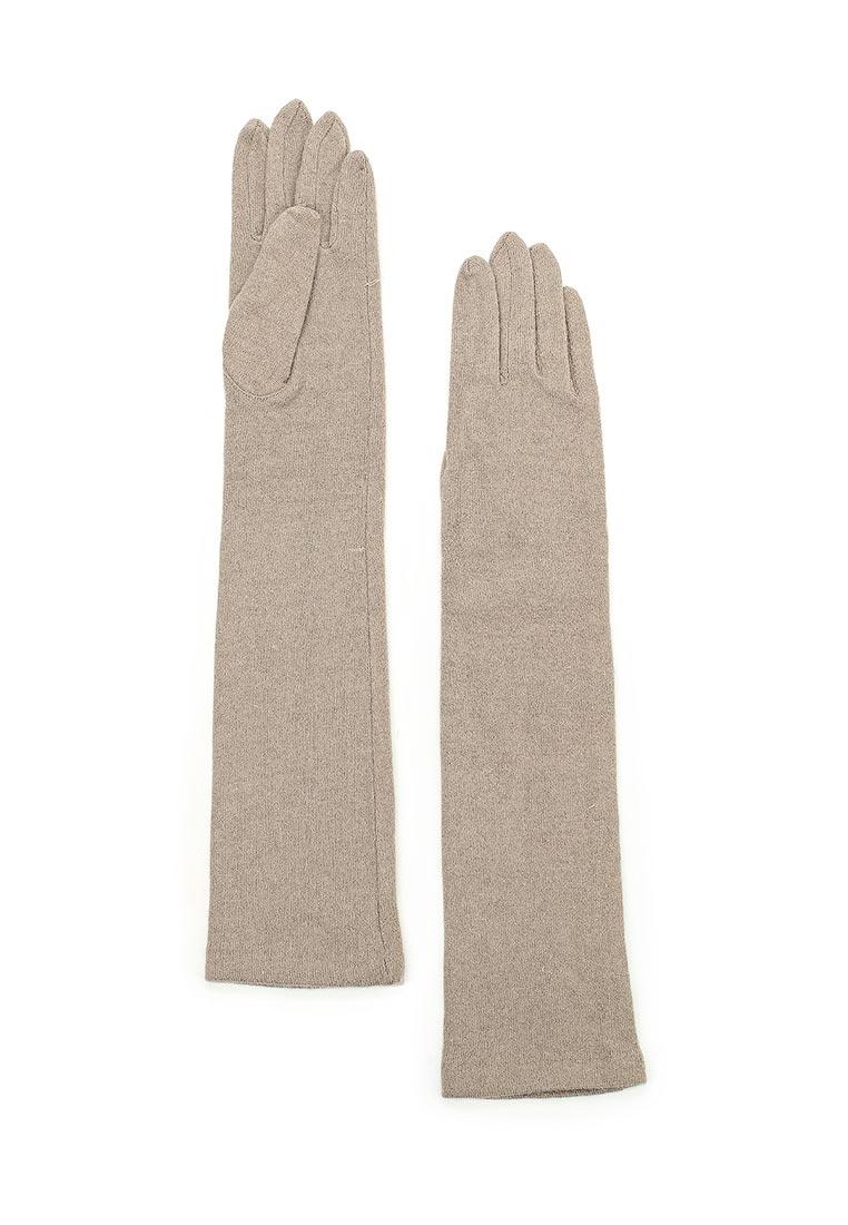 Женские перчатки Fabretti (Фабретти) D2017-4#-taup