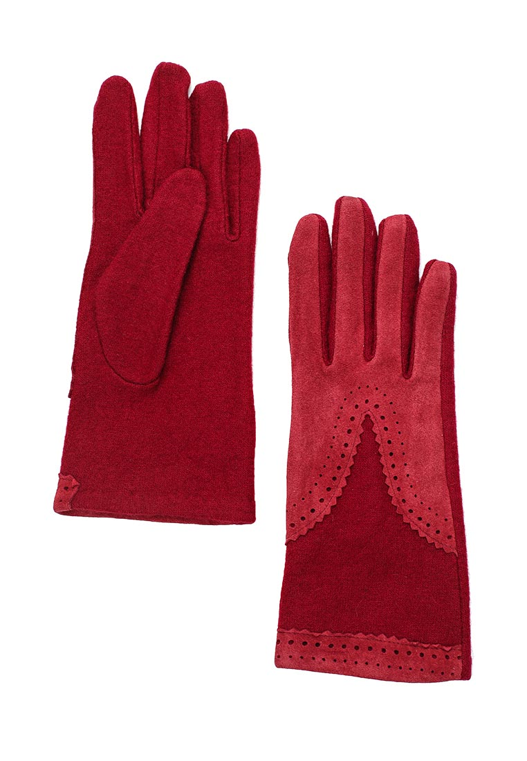 Женские перчатки Fabretti HB2017-14-bordo