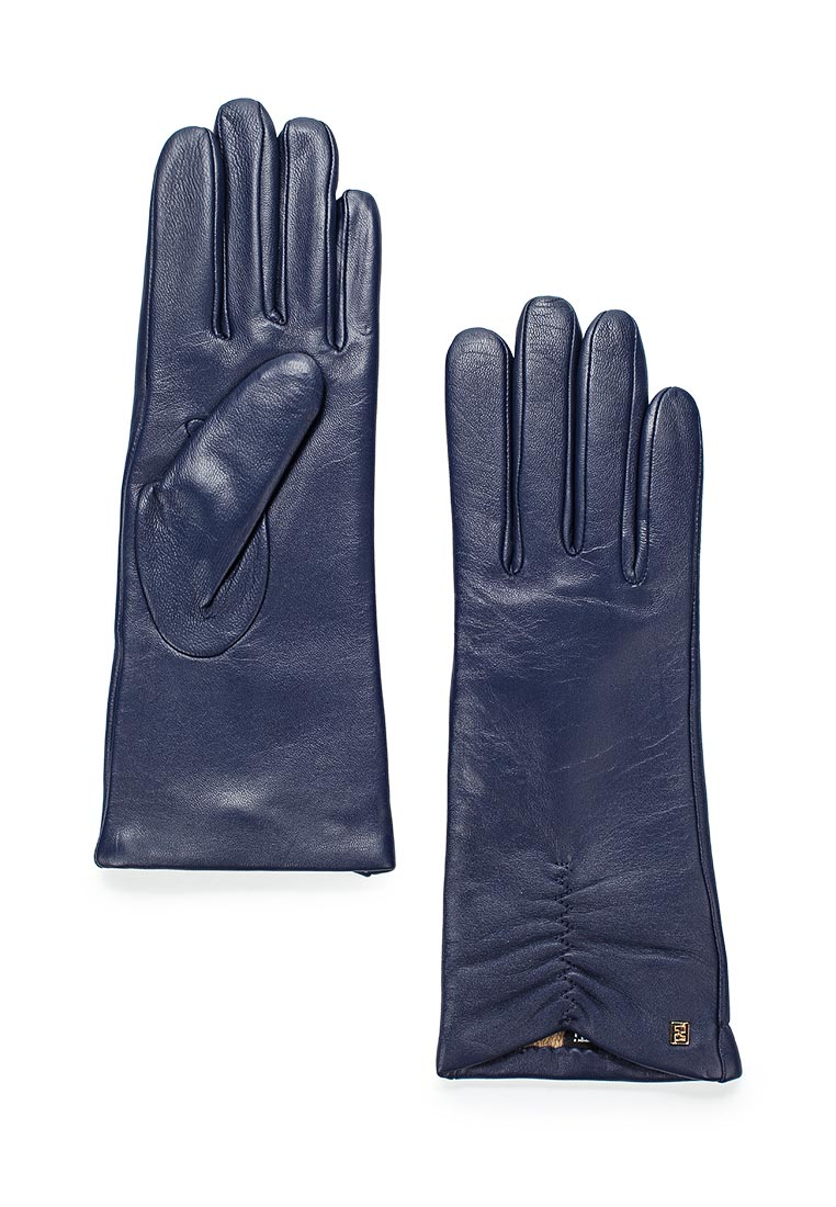 Женские перчатки Fabretti (Фабретти) S1.7-11 blue