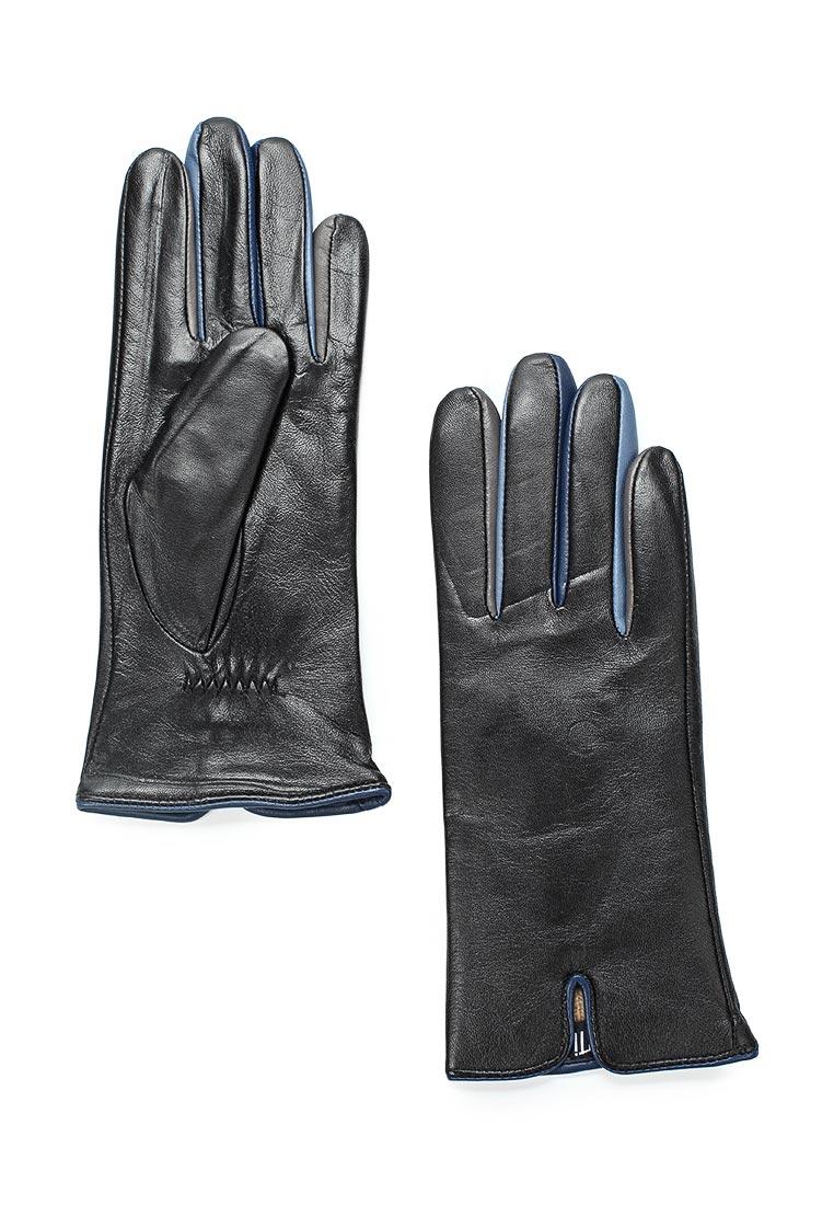 Женские перчатки Fabretti 12.16-1/11 black/blue