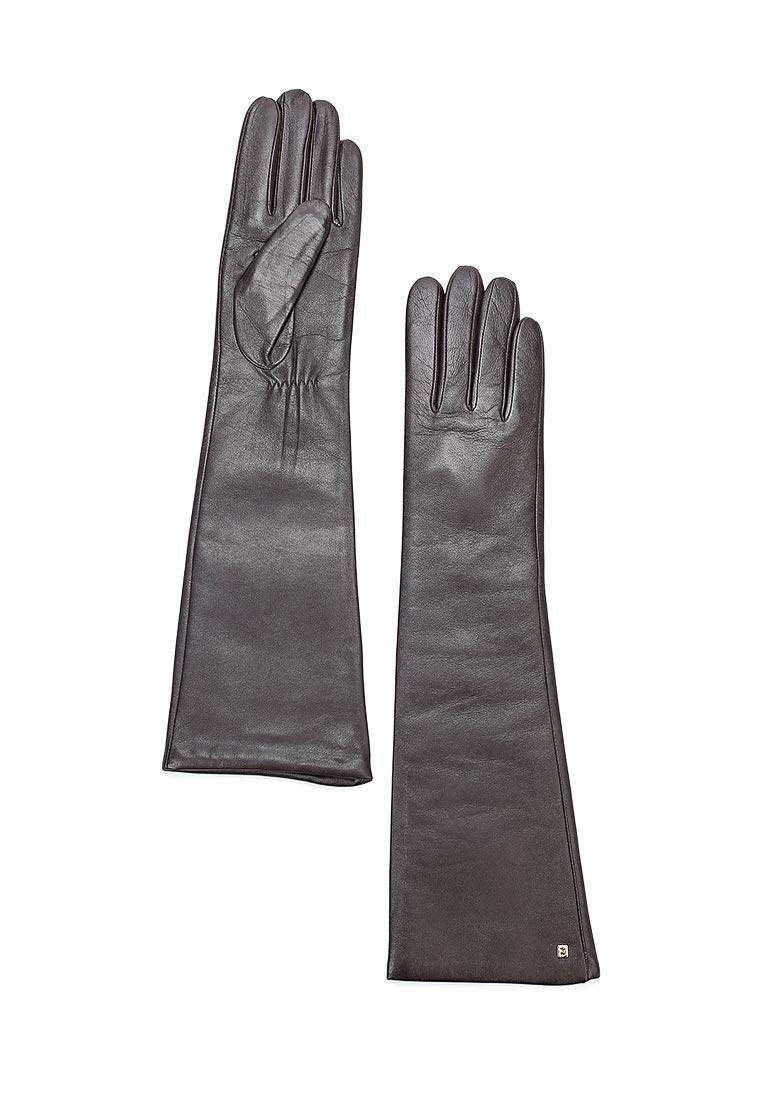 Женские перчатки Fabretti (Фабретти) 12.5-2 chocolat