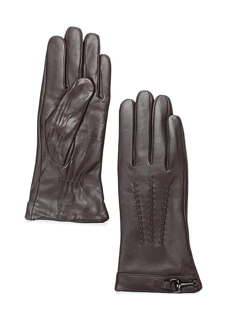 Женские перчатки Fabretti 15.10-2 chocolat