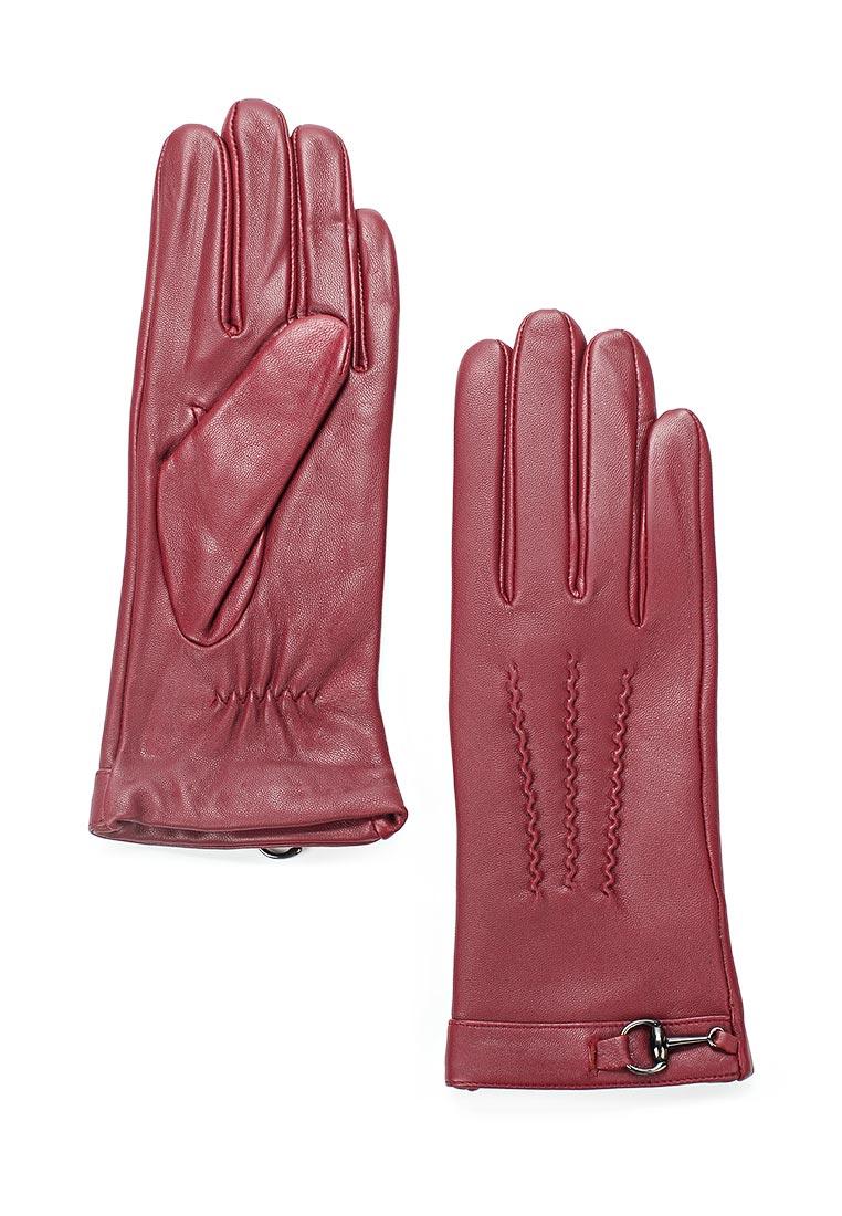 Женские перчатки Fabretti 15.10-8 wine