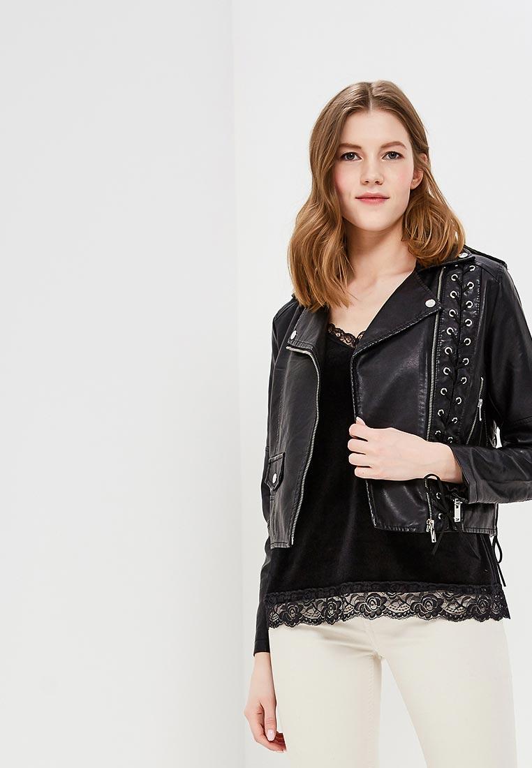 Кожаная куртка Fascinate F6365