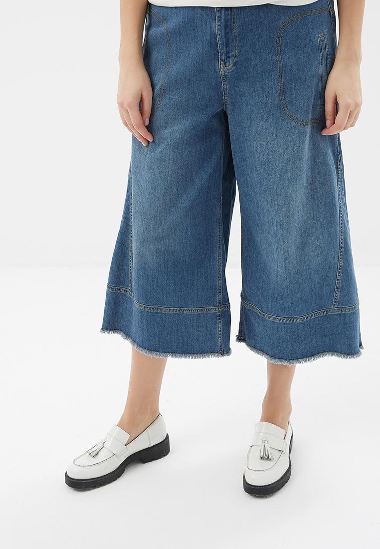 Широкие и расклешенные джинсы Fiorella Rubino P8P595T0563J