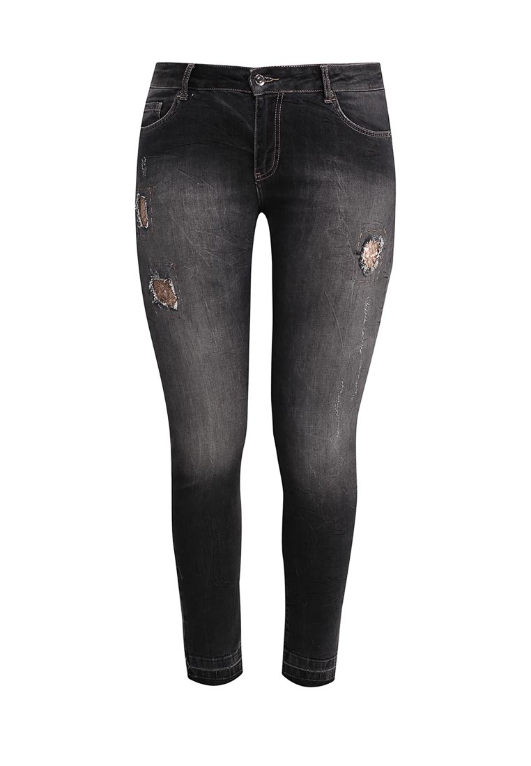 Зауженные джинсы Fiorella Rubino I6P445T219EJ