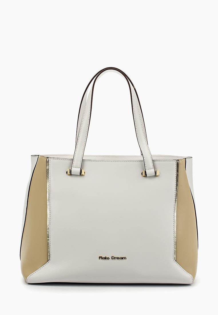 Сумка Fiato Dream 1018 кожа белый /бежевый (сумка женская)