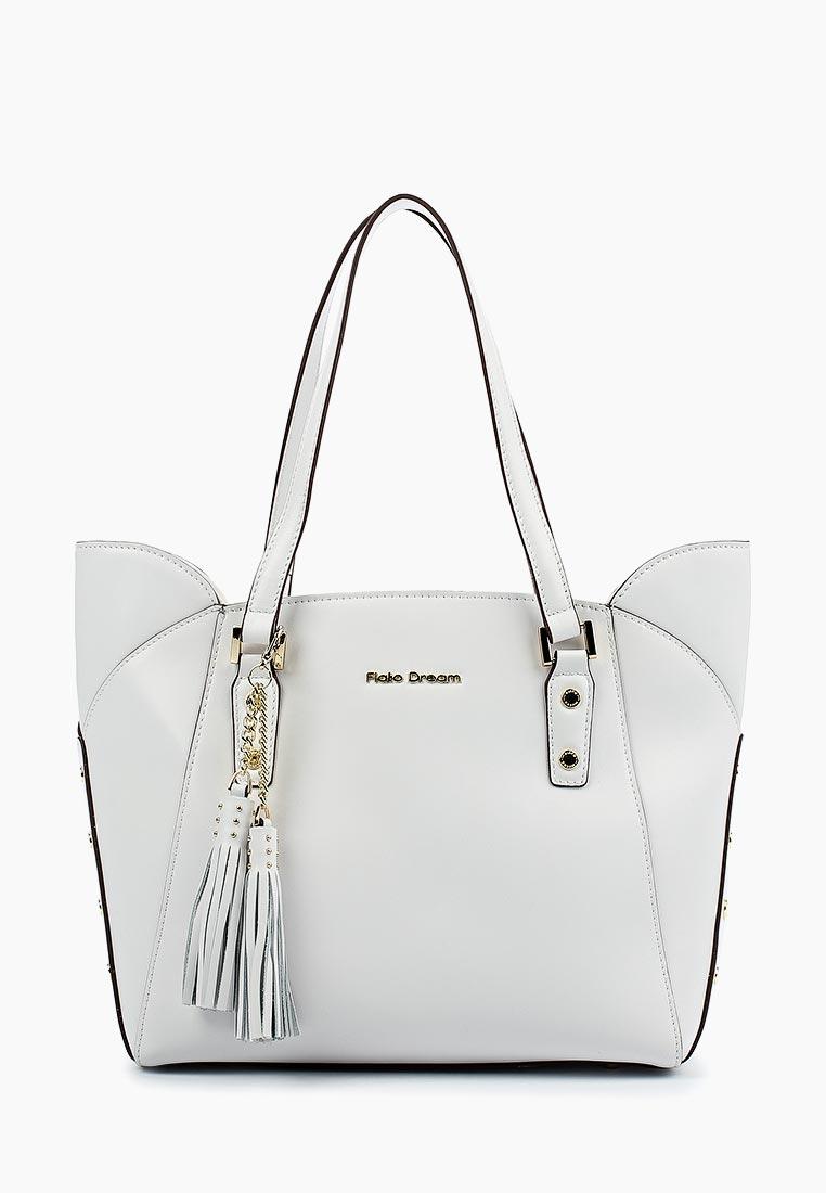 Сумка Fiato Dream 1032 кожа белый  (сумка женская)