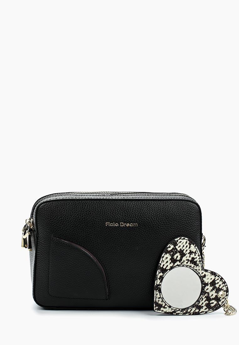 Сумка Fiato Dream 1041 кожа черный  (сумка женская)