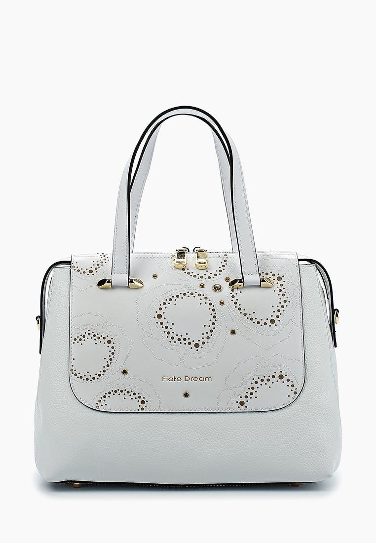 Сумка Fiato Dream 1123 кожа белый  (сумка женская)