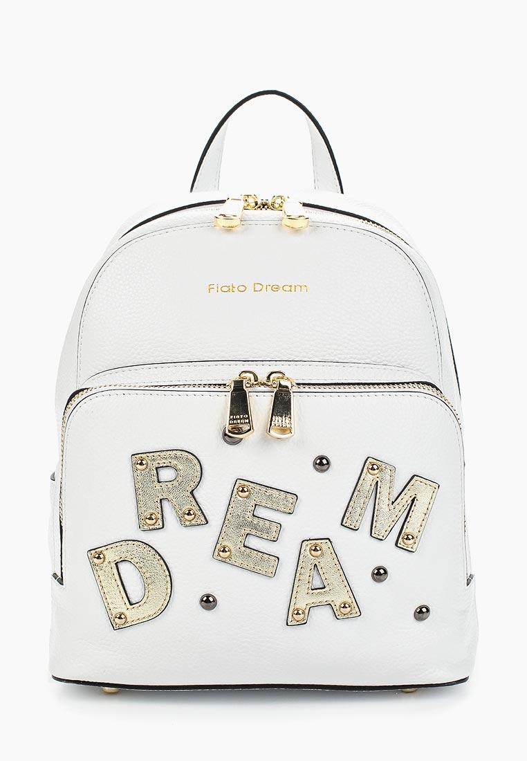 Городской рюкзак Fiato Dream 1132 кожа белый  (рюкзак женский)