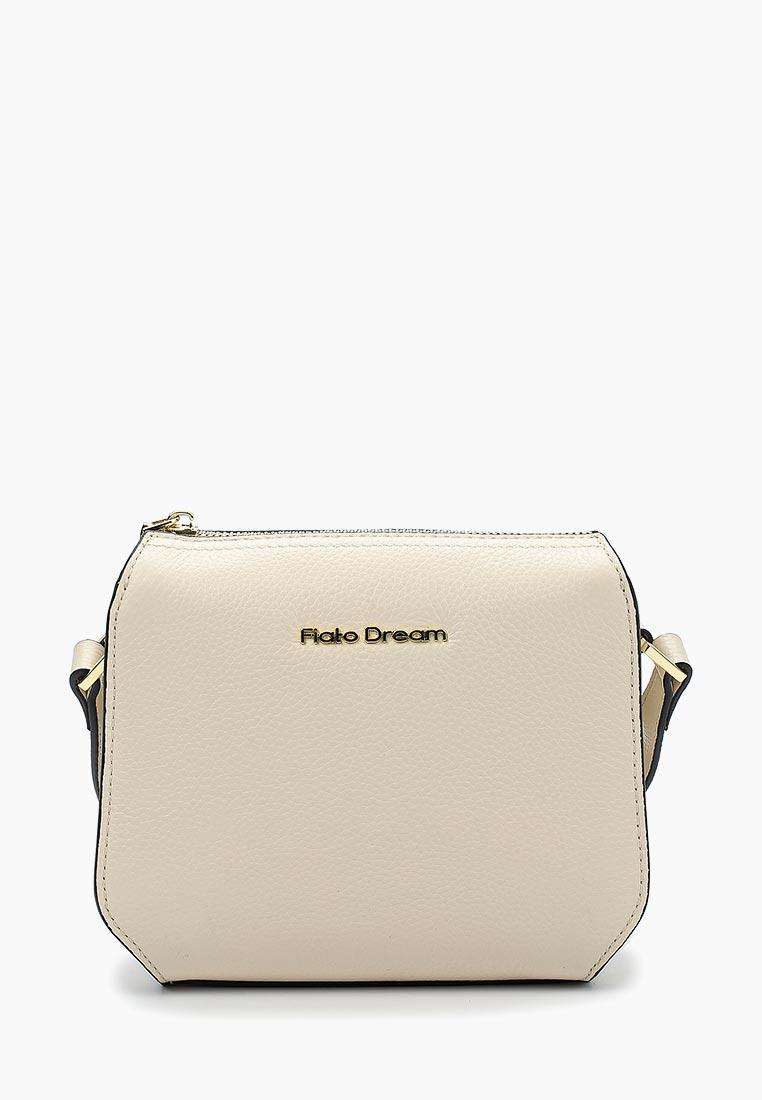 Сумка Fiato Dream 1133 кожа латте  (сумка женская)